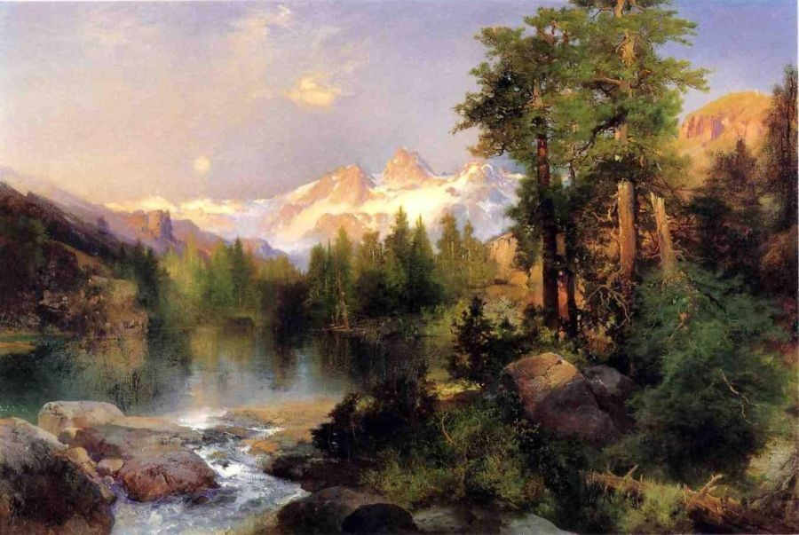 Thomas Moran The Three Tetons