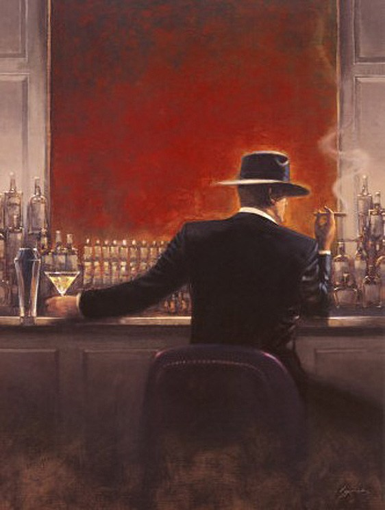 Unknown Artist Brent Lynch Cigar Bar
