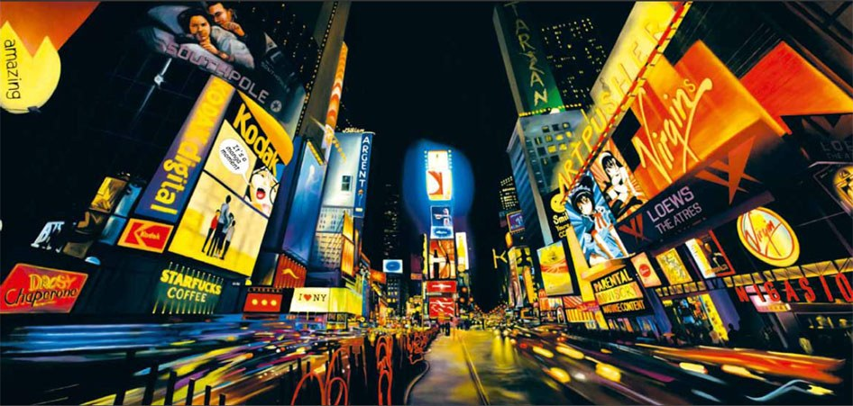 unknown artist new york painting best new york paintings for sale. Black Bedroom Furniture Sets. Home Design Ideas