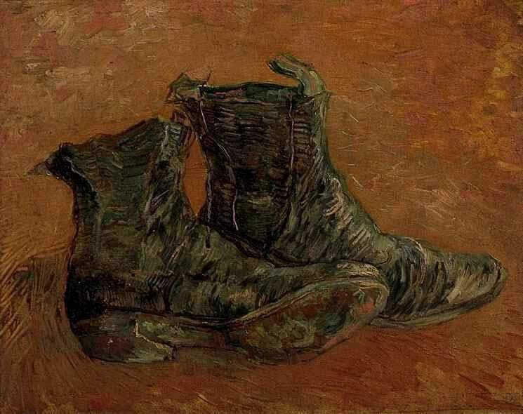 Vincent van Gogh A Pair of Shoes 1