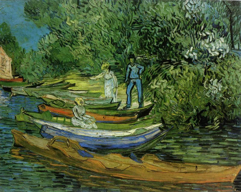 Vincent van Gogh Bank of the Oise at Auvers