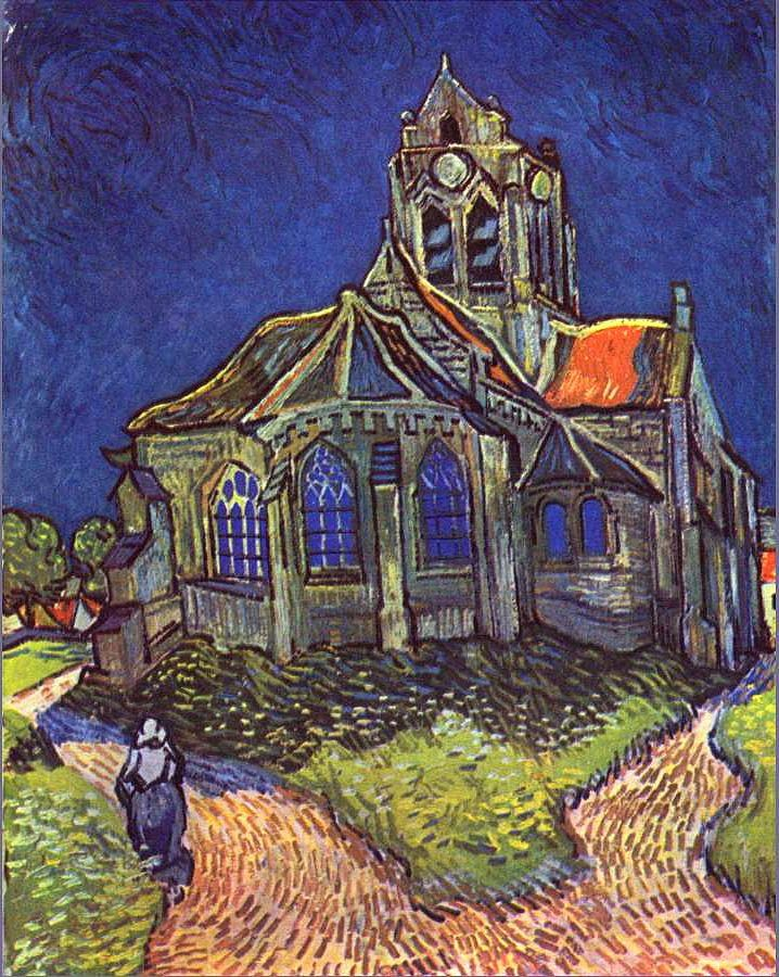 vincent van gogh church of auvers painting best church of auvers