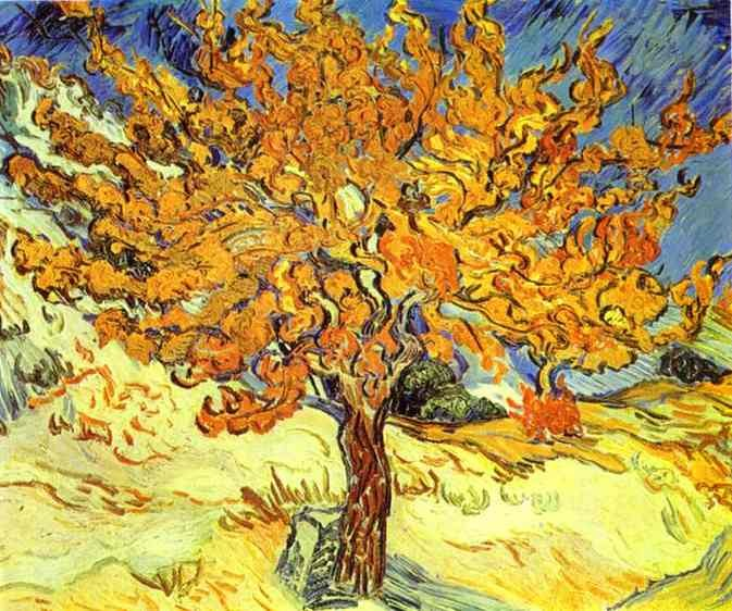 Vincent van Gogh Mulberry Tree