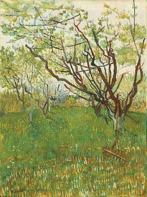Vincent van Gogh Orchard in Blossom 1