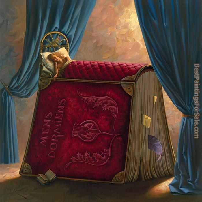 Vladimir Kush pillow book