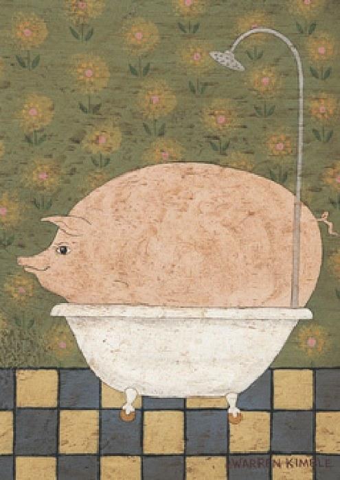Warren Kimble Hog Wash Painting Best Hog Wash Paintings
