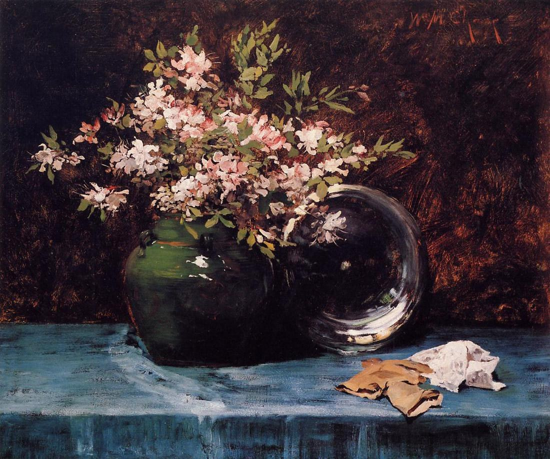 William Merritt Chase Azaleas