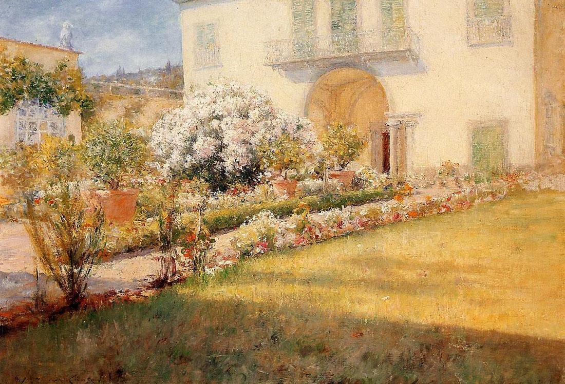 William Merritt Chase Florentine Villa