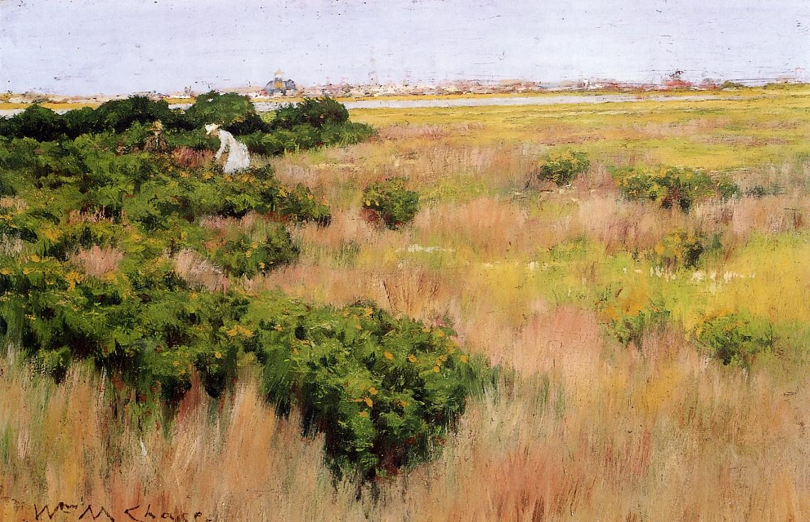 William Merritt Chase Landscape Near Coney Island