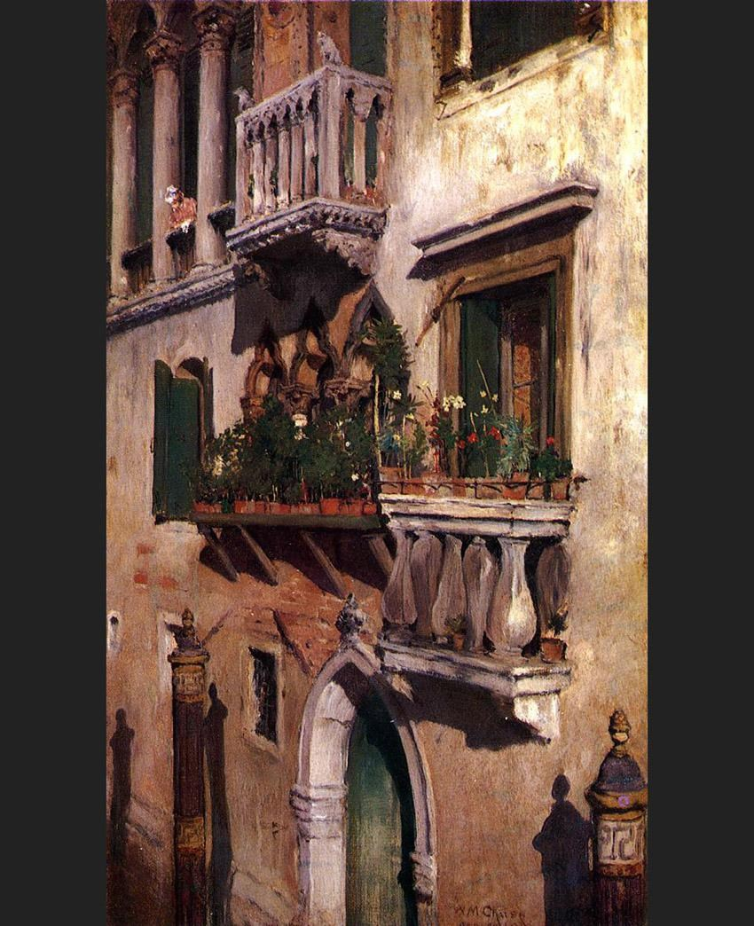 William Merritt Chase Venice