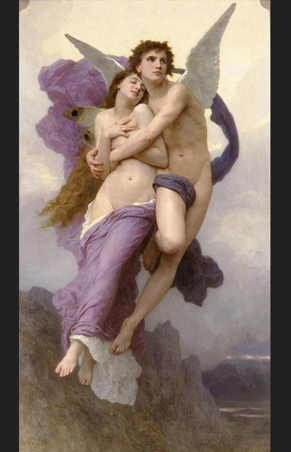William Bouguereau The Abduction of Psyche