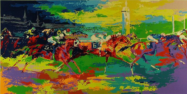 Leroy Neiman Kentucky Derby