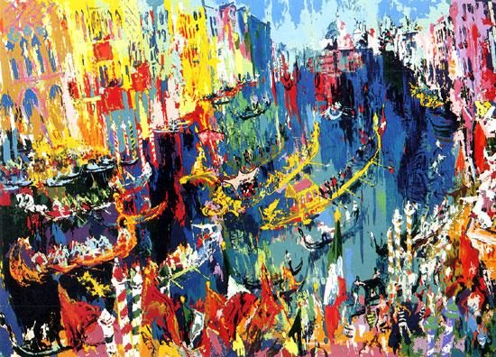 Leroy Neiman Regatta of the Gondoliers