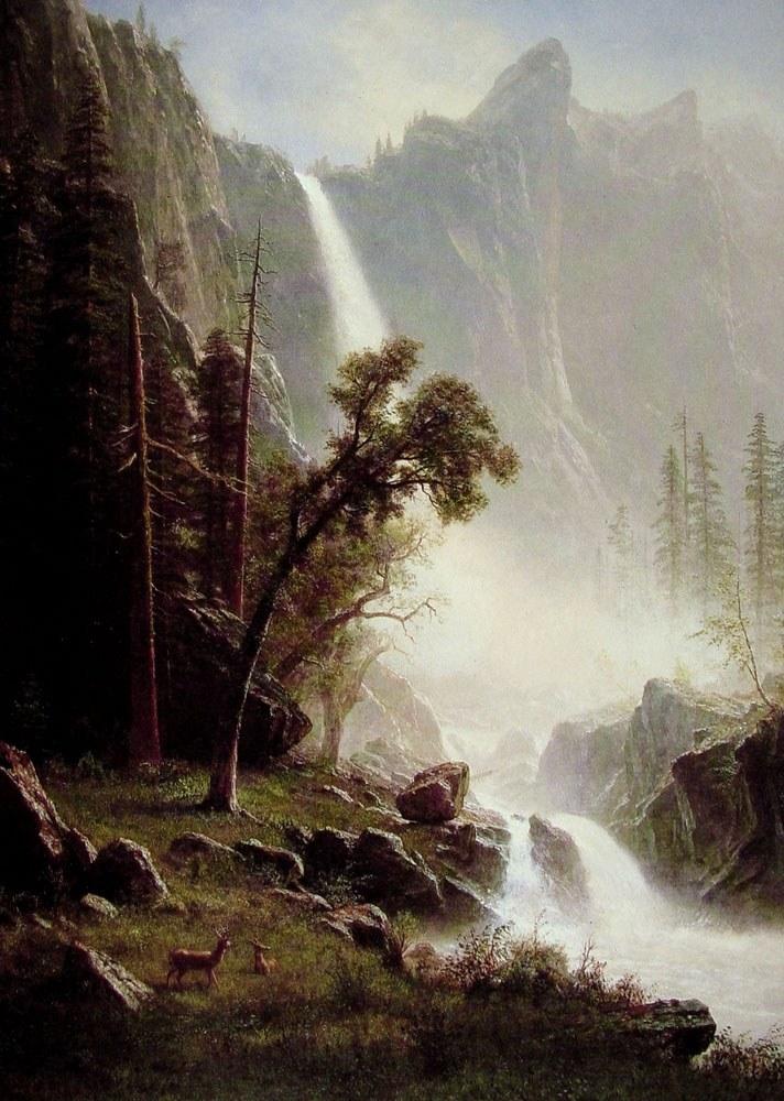 Yosemite Famous Painting