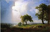 Albert Bierstadt California Spring painting
