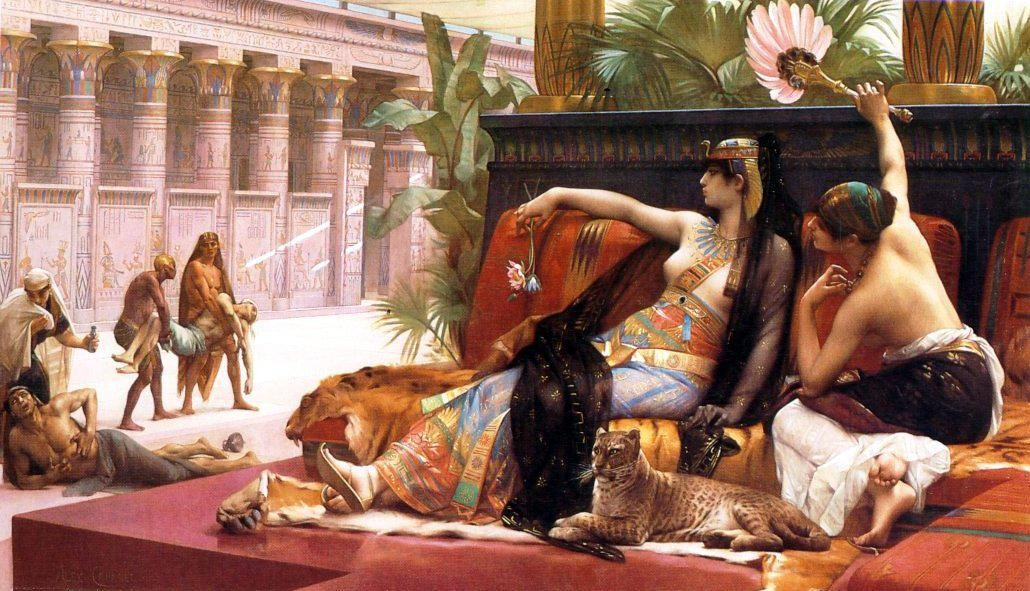 Alexandre Cabanel Cleopatra Testing Poisons on Condemned Prisoners