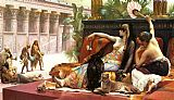 Alexandre Cabanel Cleopatra Testing Poisons on Condemned Prisoners painting
