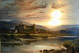 Benjamin Williams Leader Tintern Abbey painting