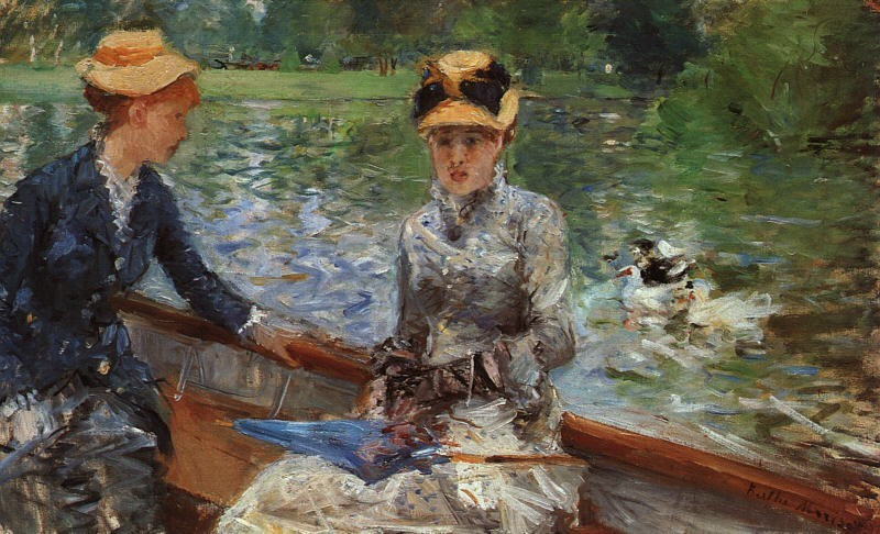Berthe Morisot A Summer's Day