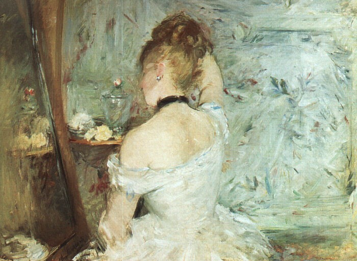Berthe Morisot A Woman at her Toilette