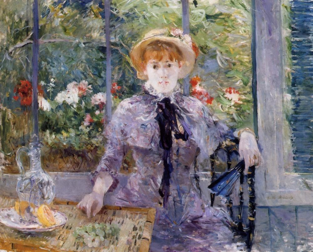 Berthe Morisot After Luncheon