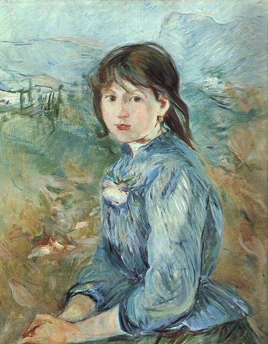 Berthe Morisot The Little Girl from Nice