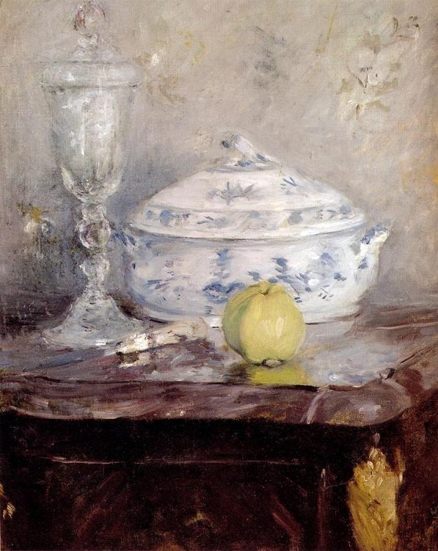 Berthe Morisot Tureen And Apple