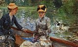 Berthe Morisot A Summer's Day painting