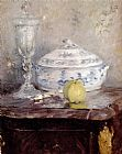 Berthe Morisot Tureen And Apple painting