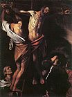 Caravaggio The Crucifixion of St. Andrew painting