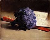 Edouard Manet Bouquet Of Violets painting