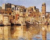 Mediterranean paintings - Muttra by Edwin Lord Weeks