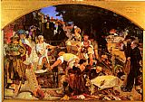Ford Madox Brown Work painting