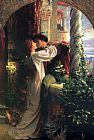 Frank Dicksee Romeo and Juliet painting