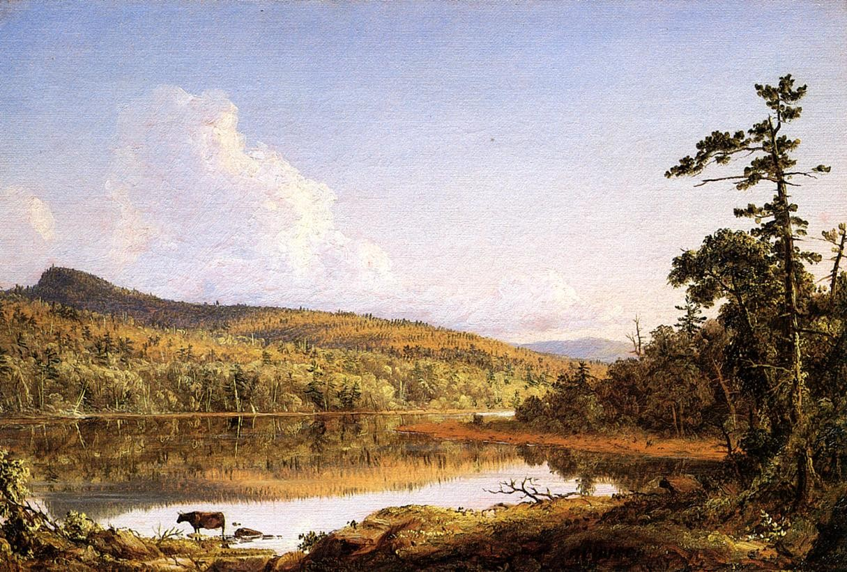 Frederic edwin church north lake painting best paintings for R2605