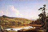 Frederic Edwin Church North Lake painting