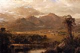 Frederic Edwin Church Mountains of Ecuador painting