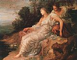 George Frederick Watts Ariadne on the Island of Naxos painting