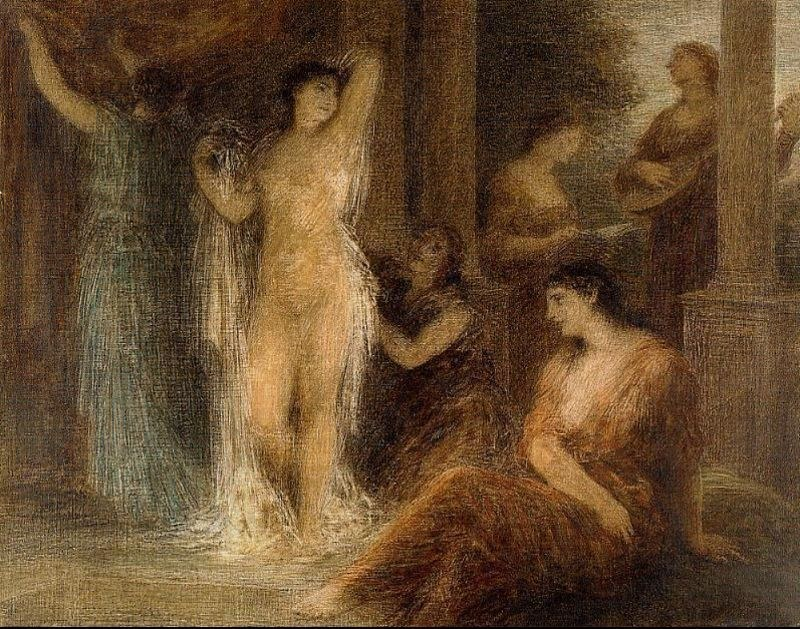 Henri Fantin-Latour The Bath