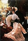 James Jacques Joseph Tissot The Political Lady painting