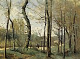 Jean-Baptiste-Camille Corot First Leaves, near Nantes painting