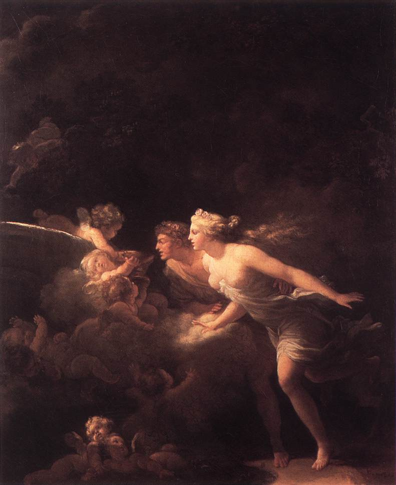Jean-Honore Fragonard The Fountain of Love