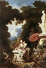 Jean-Honore Fragonard The Confession of Love painting