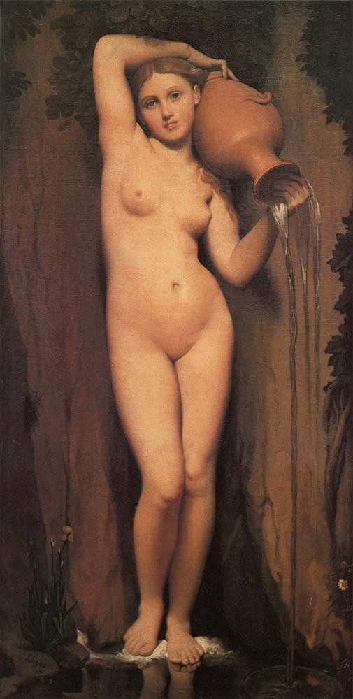 Jean Auguste Dominique Ingres Ingres The Source