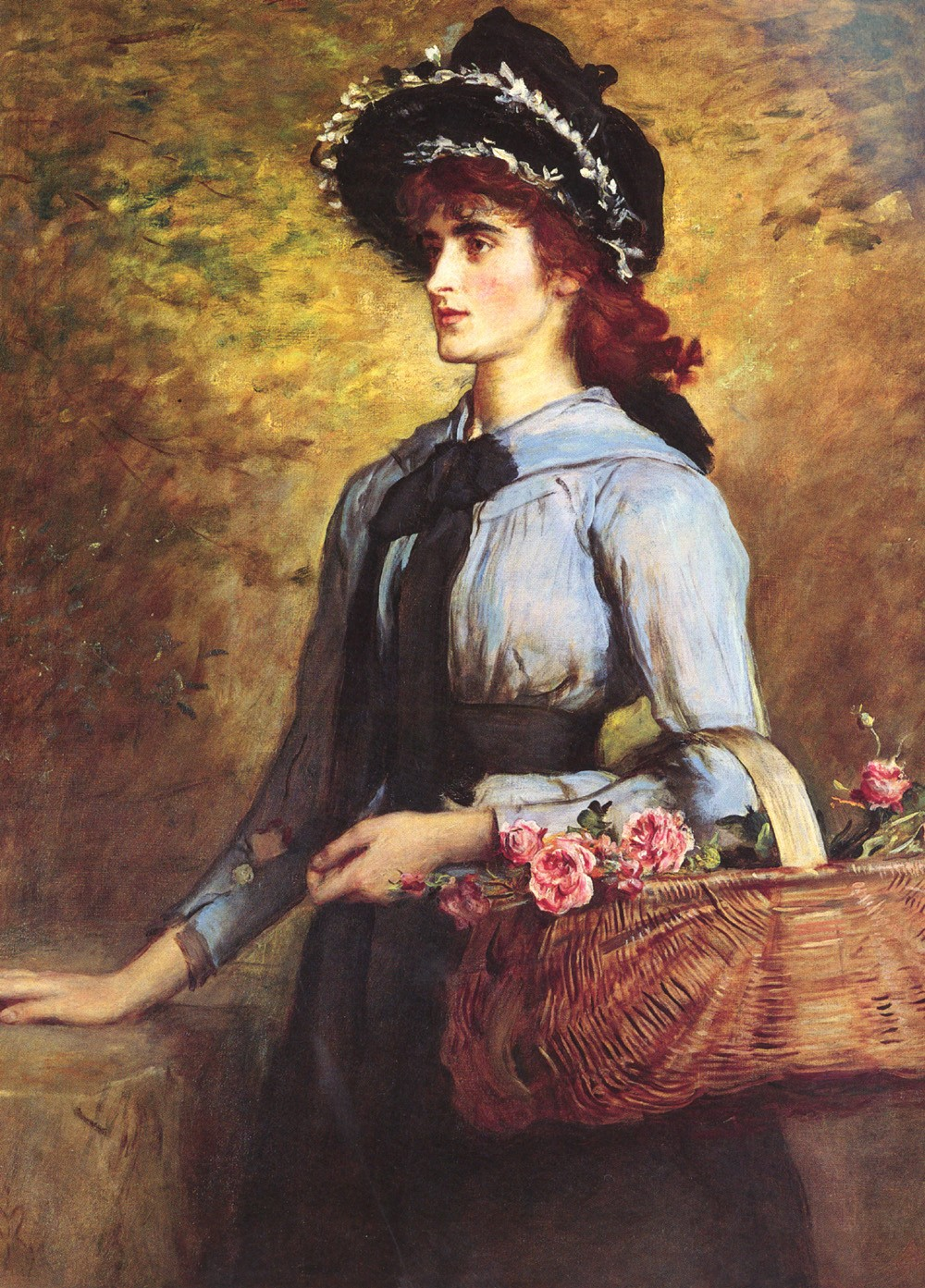 John Everett Millais Sweet Emma Morland Painting Best