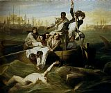 Hunting paintings - Brook Watson And The Shark by John Singleton Copley