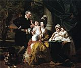 John Singleton Copley Sir William Pepperrell and Family painting