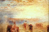 Joseph Mallord William Turner Approach to Venice painting
