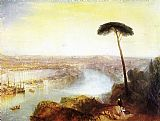 Joseph Mallord William Turner Rome from Mount Aventine painting