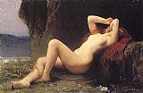 Jules Joseph Lefebvre Mary Magdalene In The Cave painting